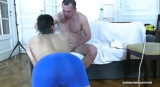 Daddy Horatio Barebacks Young Etienne
