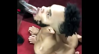 Lucky Boy deep throats Big Beautiful Black Cock(meiamjay.tumblr.com / https://twitter.com/JayJettison)