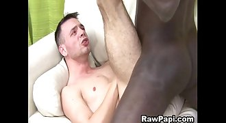 Latino Gay Suck A Black Cock And Have Without a condom